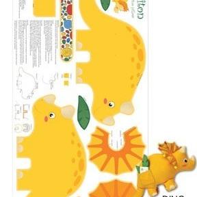 Jungle Club - Dino Pillow Panel