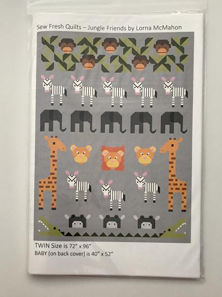 Jungle Friends Quilt Pattern