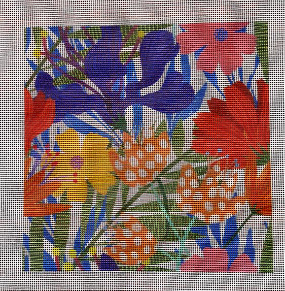 Jungle needlepoint canvas