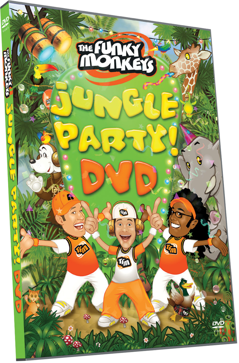 Jungle Party! DVD