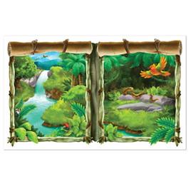 Jungle window View Scene Setter