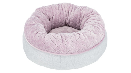 Junior Bed Round 40cm Grey/Lilac