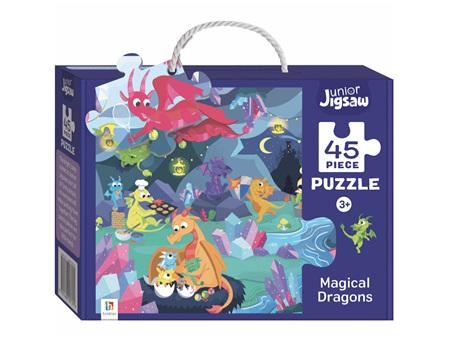Junior Jigsaw Puzzle - Magic Dragons