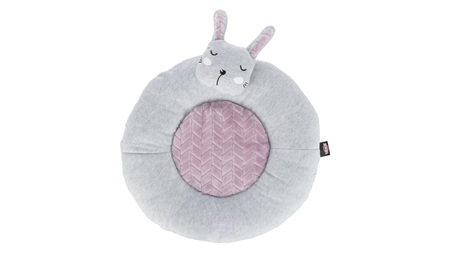 Junior Lying Mat Rabbit 40cm Grey/Lilac