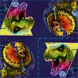 Jurassic World Luncheon Napkins