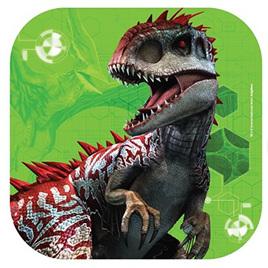 Jurassic World Luncheon Plates Square