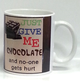 Give Chocolate Mug