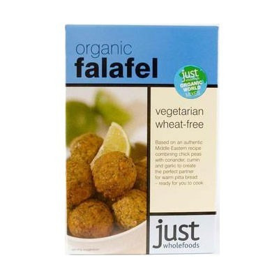 Just Wholefoods Organic Falafel box mix