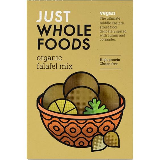 Just Wholefoods Organic Falafel box mix