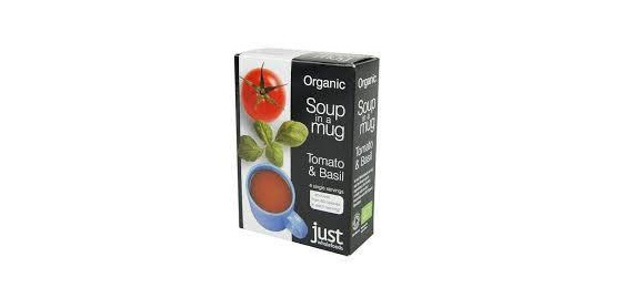 Just Wholefoods Organic Soup in a Mug