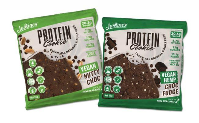 Justines Clean Protein Cookies