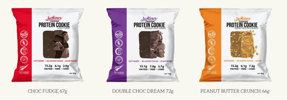Justines Everyday Protein Cookies