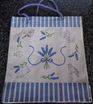 Jute Carry Bag - Lavender