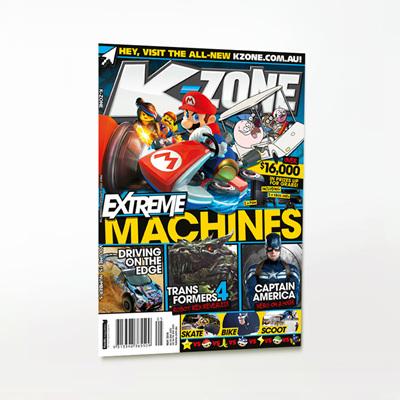 K-Zone Kids Mini Magazine
