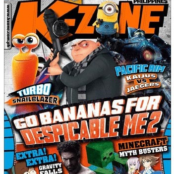K-Zone Kids Mini Magazine