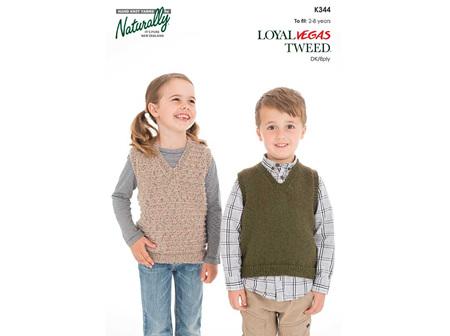 K344 Loyal Vegas Tweed Pattern