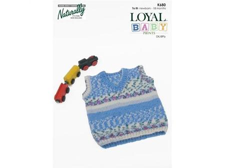 K680 Loyal Baby Print Pattern