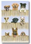 K9 Dogs Tea Towel