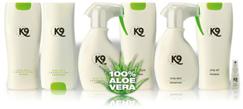 Afbeeldingsresultaat voor k9 shampoo and conditioner