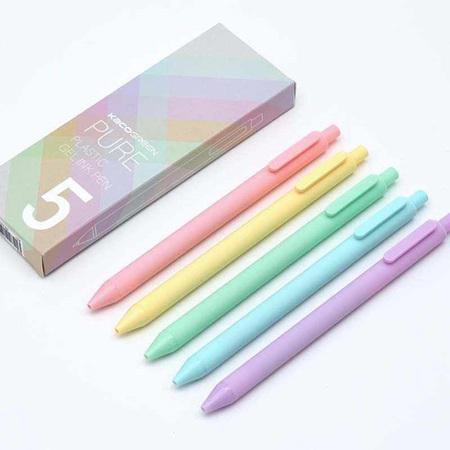 Kacogreen Pastels Gel Ink Pens (5 Pack)