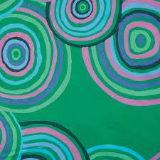 Kaffe Fassett Circles green