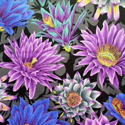 Kaffe Fassett Collective - Cactus Flower Black