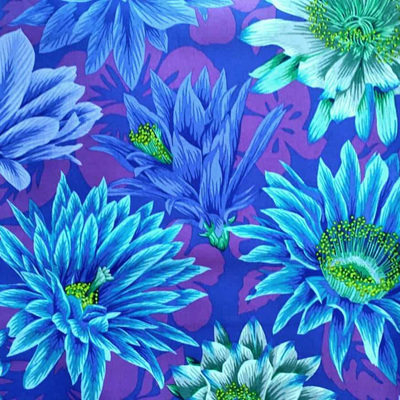 Kaffe Fassett Collective - Cactus Flower Blue