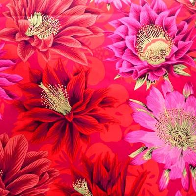Kaffe Fassett Collective - Cactus Flower Red