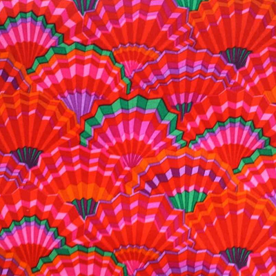 Kaffe Fassett Collective - Paper Fans Red