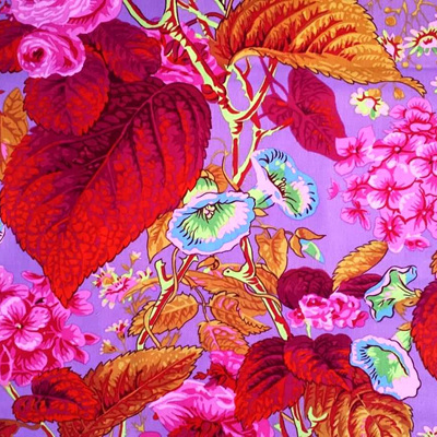 Kaffe Fassett Collective - Rose & Hydrangea Hot