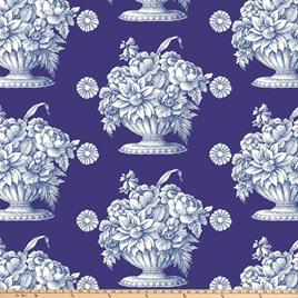 Kaffe Fassett Stone Flower Royal QBGP005.2Royal