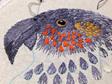 Kaka embroidered hoop