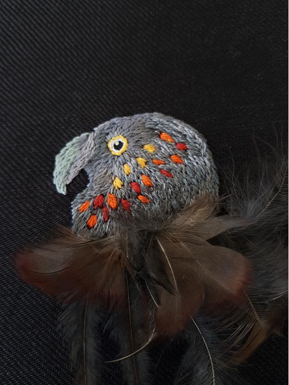 kaka embroidery