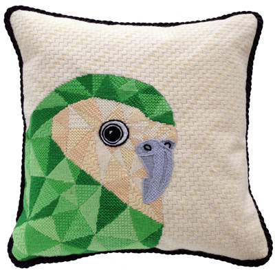 Kakapo needlepoint kit