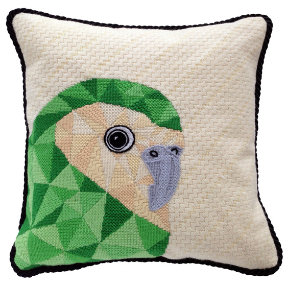kakapo needlepoint kit nz bird tapestry kit