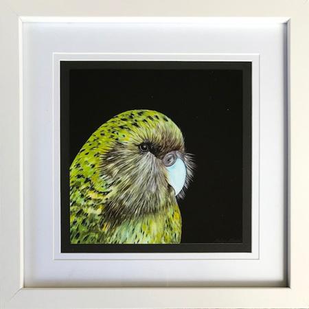 Kakapo - square frame 8 x 8'