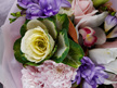 Kale flower in Seasonal bouquet