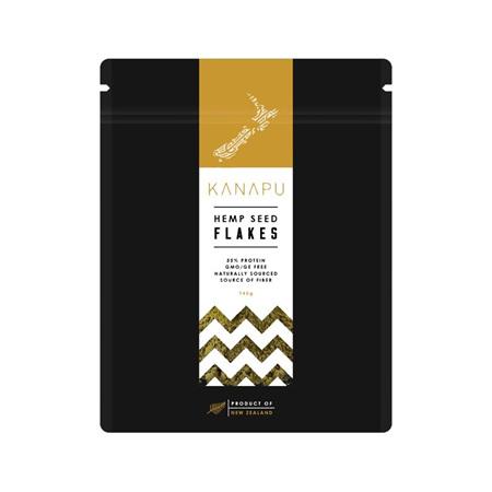 Kanapu  NZ Premium Grade Hemp Flakes/Hearts - bulk & packet