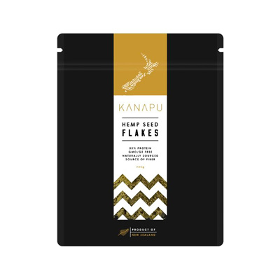 Kanapu  NZ Premium Grade Hemp Flakes/Hearts - bulk & packet