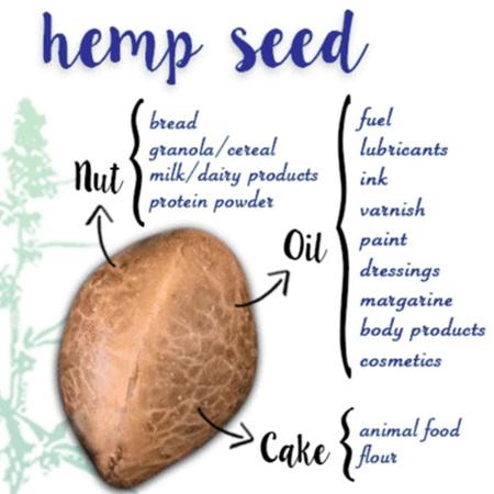 Kanapu  NZ Premium Grade Hemp Seed Flakes/Hearts - bulk & packet