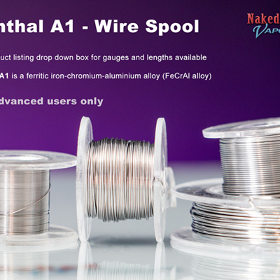 Kanthal A1 - Spool - 50% OFF Whilst stocks last - Clearance