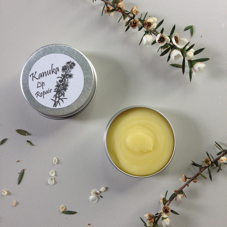 kanuka lip repair lip balm safe natural organic gift idea zero waste nz