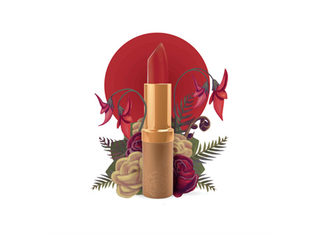 Karen Murrell Lip Stick - True Love Red 4g