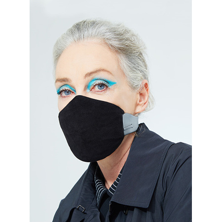 Karen Walker Meo Face Mask LARGE (Black)