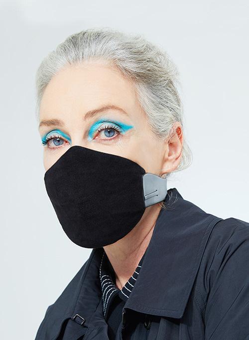 Karen Walker Meo Face Mask LARGE (Black)