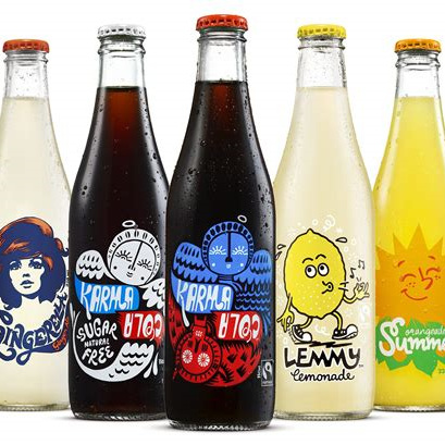 Karma Cola Organic Cold Beverages - Mixed