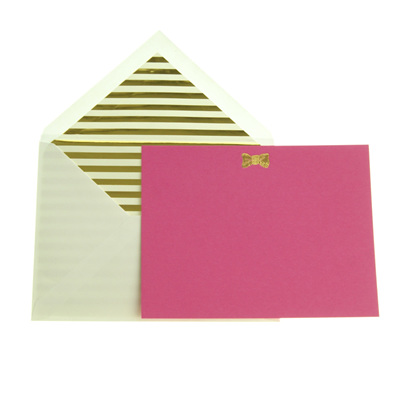 Kate Spade all wrapped up notecard set