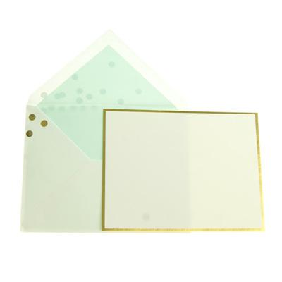 Kate Spade confetti notecard set