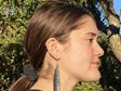Katipo earrings