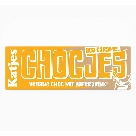 Katjes Chocjes Sea Caramel Chocolate Bar 50g